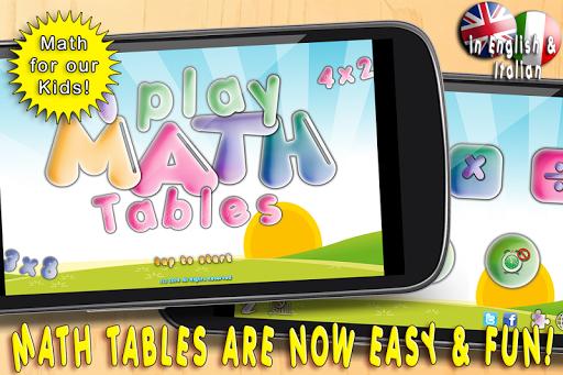 i Play Math Tables HD