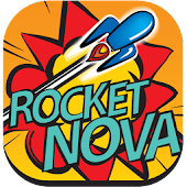 Rocket Nova Retro Arcade Game