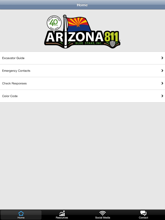 Arizona 811- screenshot