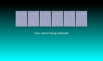 Screenshot of Missing Card Trick