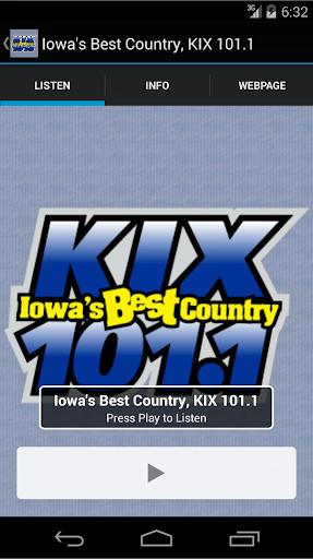 Iowa's Best Country KIX 101.1