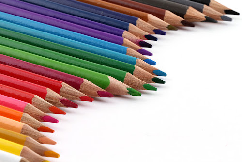The colorful ride by Ramakant Sharda - Artistic Objects Still Life ( macro, micro, colors, object, crayons, pencils, , colorful, mood factory, vibrant, happiness, January, moods, emotions, inspiration )