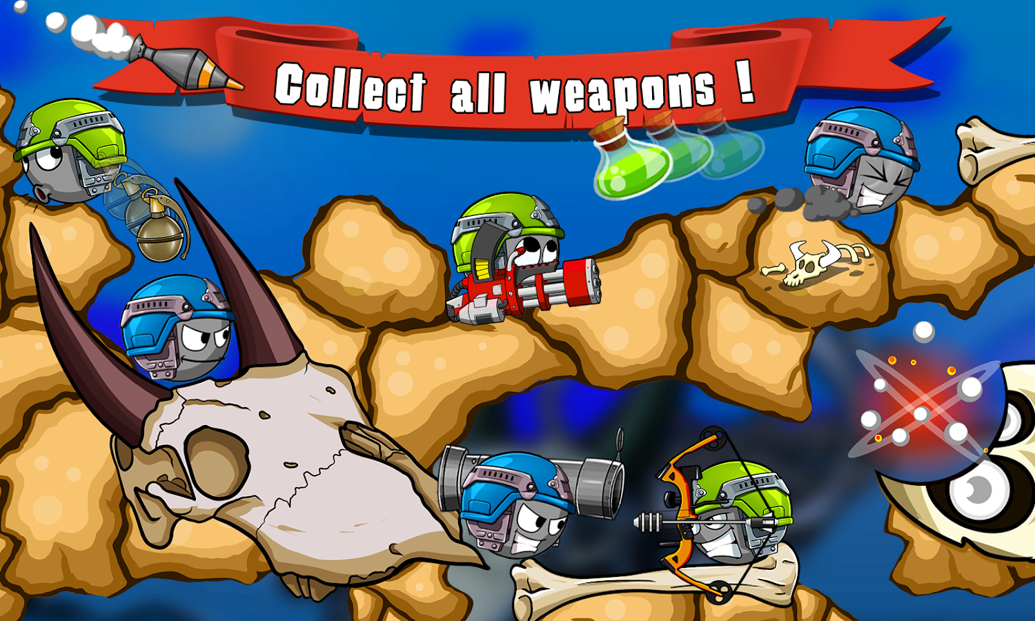 Screenshots of Warlings for iPhone