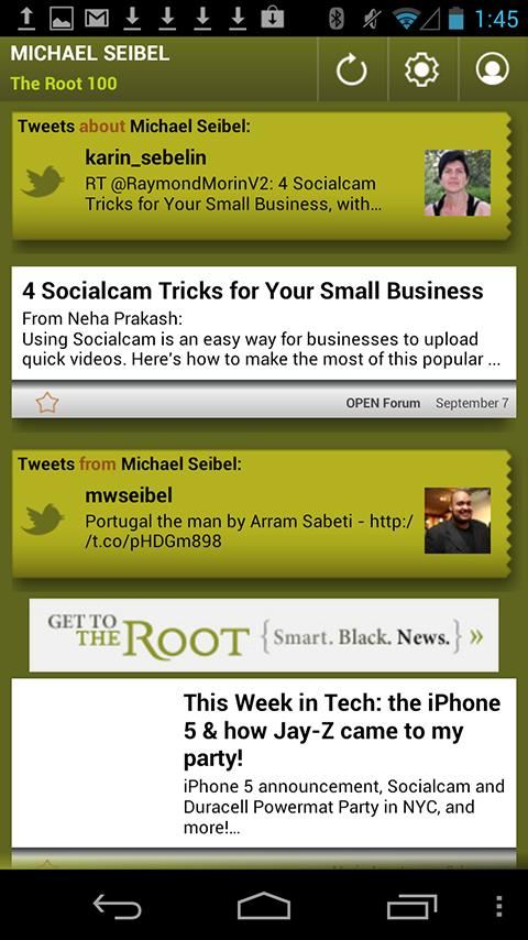 Michael Seibel: The Root 100 - screenshot