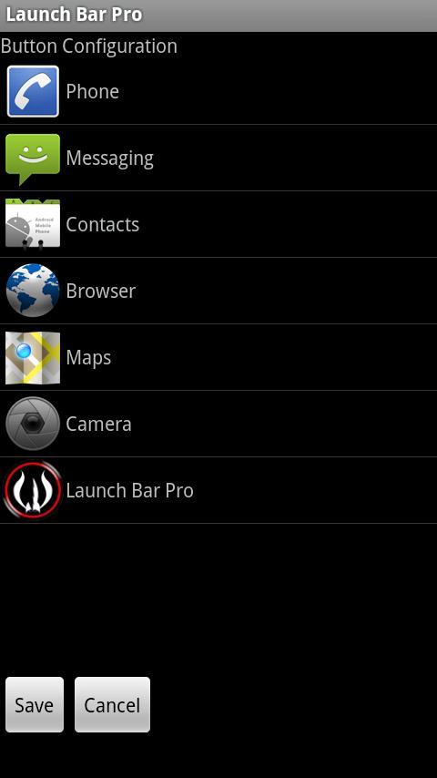 Launch Bar Pro- screenshot