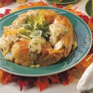 Chicken with Mushroom Sauce.