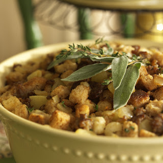 Sausage and Apple Bread Stuffing.