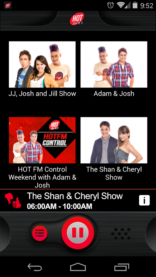 Hot FM91.3 - screenshot
