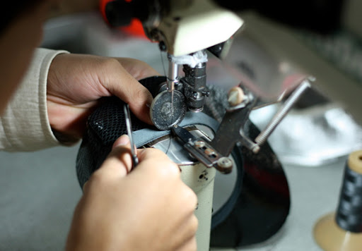 How your shoes are made: the stitch station - Shoes of Prey