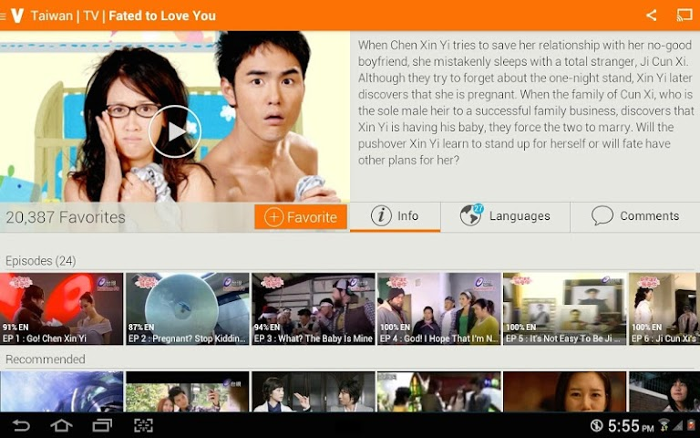 Screenshot 2 Viki: Free TV Drama & Movies