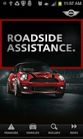 Screenshot of MINI Roadside Assistance