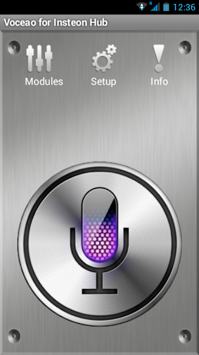 Voceao for Insteon Hub.