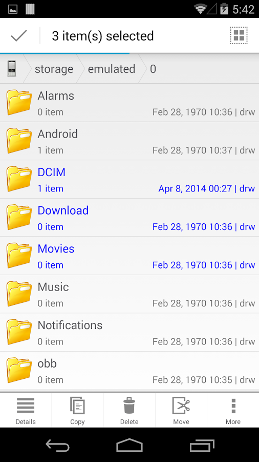 File Manager HD(File transfer)- screenshot