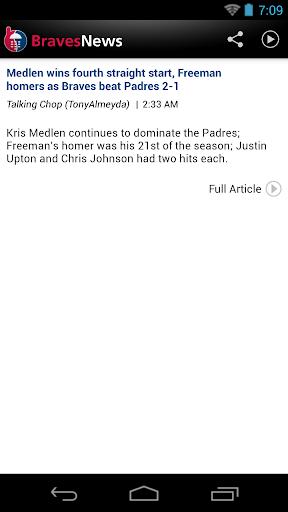 Atlanta Baseball News for PC