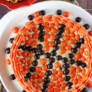 M&M Basketball Chocolate Chip Cookie Cake Recipe