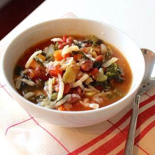 Skinny Vegetable Soup Recipe