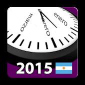 Argentina 2015 Calendar