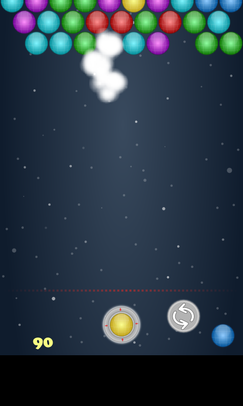 Space Bubble Shooter- screenshot