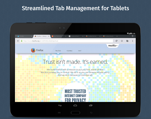 Firefox Browser for Android v41.0 (All Versions)