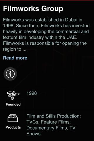 Filmworks Dubai