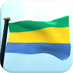 Gabon Flag 3D Free Wallpaper