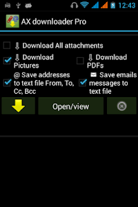 AX downloader Pro: attachment v24.2.4