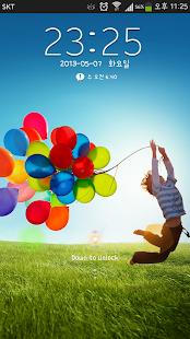 삼성 갤럭시S4 고락커 잠금화면|玩生活App免費|玩APPs