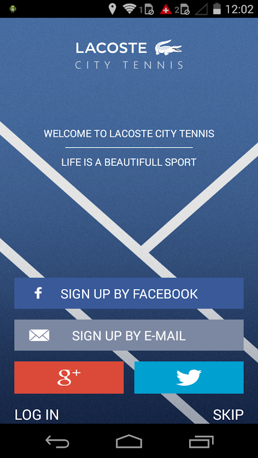LACOSTE City Tennis- screenshot