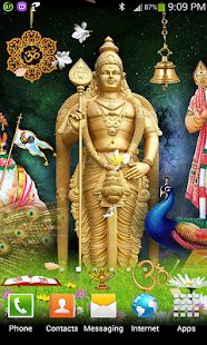 Swami Murugan Live Wallpaper - screenshot thumbnail