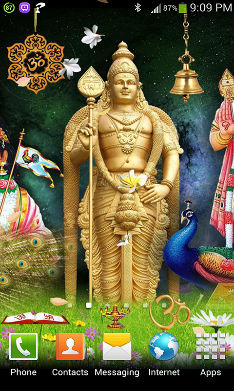 Swami Murugan Live Wallpaper - screenshot
