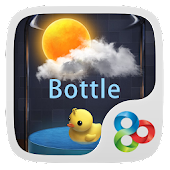 Bottle GO Launcher Live Theme