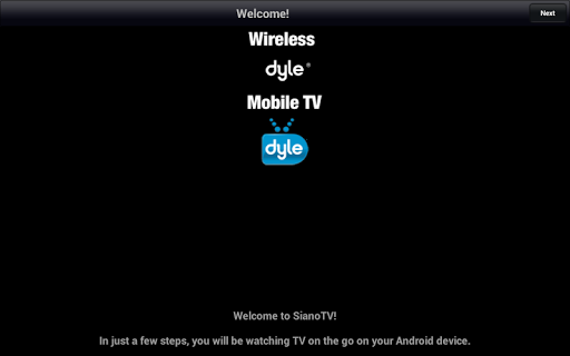 Wireless Dyle® mobile TV