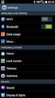 Screenshot of CM11 CM10.2 GALAXY S4 TW theme