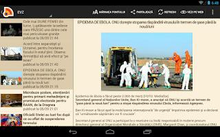 Screenshot of Stiri din Romania