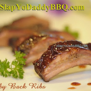 Slapilicious Baby Back Ribs with Agave Glaze