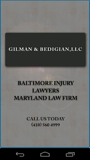 Accident App Gilman Bedigian