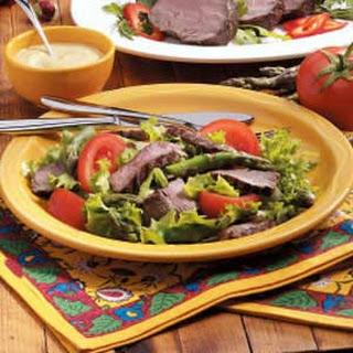 Beef Tenderloin Salad.