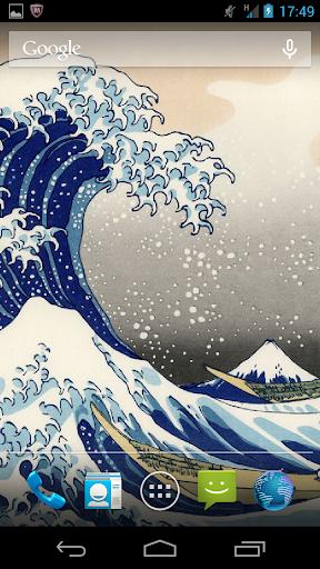 浮世絵ライブ壁紙-葛飾北斎 富嶽三十六景Vol.3