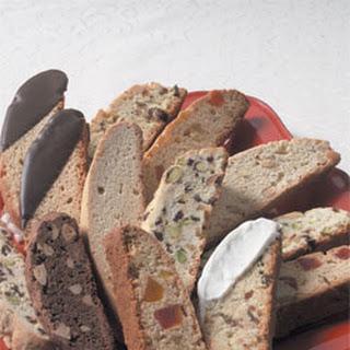 Pistachio-Cherry Biscotti