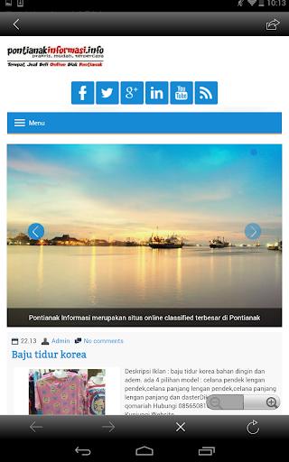 【免費商業App】Pontianak Info-APP點子