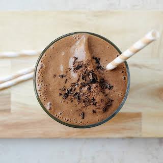 Best Ever Chocolate Banana Milkshake.