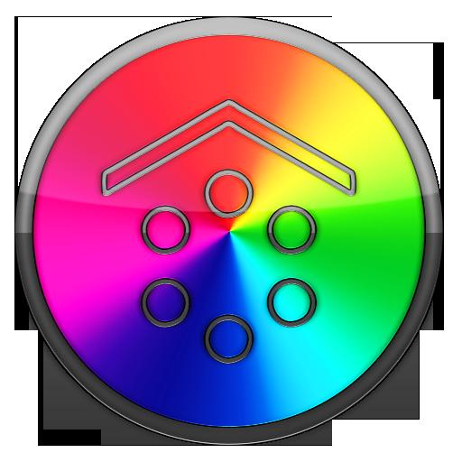 Smart Launcher theme rainbow