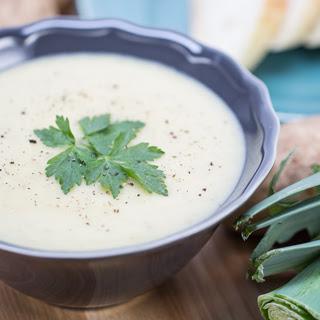 Creamy Potato-Leek Soup