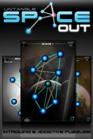 Untangle Space Out - screenshot