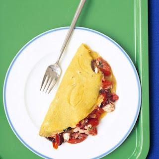 Mediterranean Omelet.