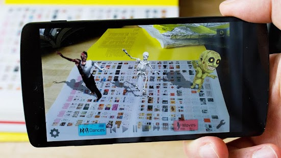 AR Dance Augmented Reality