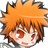 Bleach Chibi Analog Clock icon