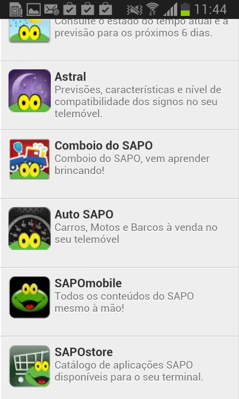 SAPOstore - screenshot