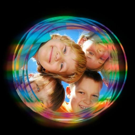 Circle Colors Photo Frames