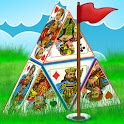 Pyramid Golf Solitaire logo